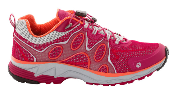 Jack Wolfskin Passion Trail Low - Zapatillas para correr Mujer - rojo